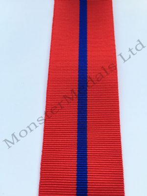 Coronation 1902 Police Full Size Medal Ribbon